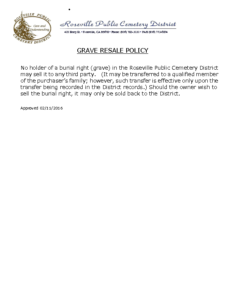 GRAVE_RESALE_POLICY